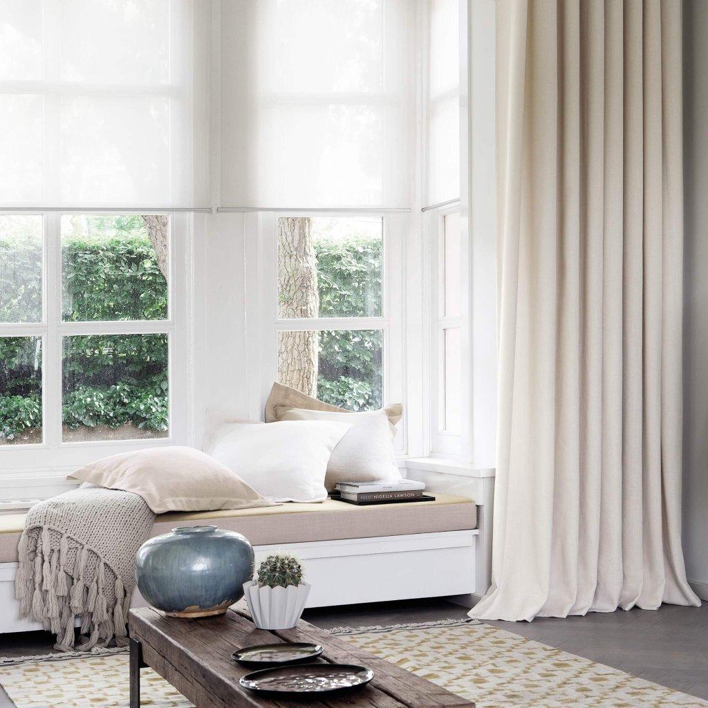 gardiner tjockt tyg