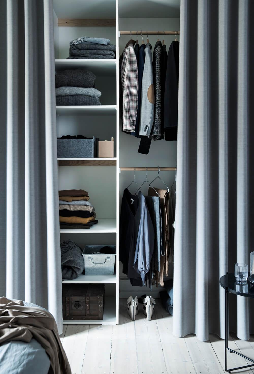 Inred ditt sovrum med gardiner och tyg – inspiration 94adef5c9caff